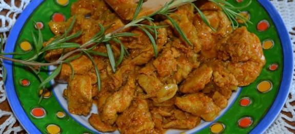 kuřecí mas